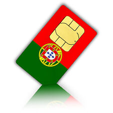 SIM Karte für Portugal, Azoren und Madeira 750 MB Daten + 200 Min Standard/Micro