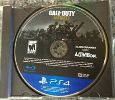 Call of Duty: WWII Word War 2 (Sony PlayStation 4, 2017) Disc Only! Tested!