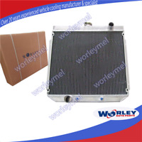 3 Row Aluminum Radiator for Ford XY 250 XW 302 GS GT 351 Cleveland Falcon 69-72