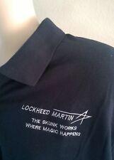 "XXL LOCKHEED MARTIN SHIRT ""SKUNK WORKS-WHERE MAGIC HAPPENS"""