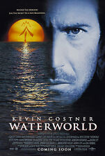 WATERWORLD (1995) ORIGINAL MINI 11 X 17 MOVIE POSTER  -  ROLLED
