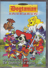 Dogtanian The Movie (1989) One For All And All For One R0 DVD