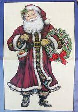 Christmas Santa Cross Stitch Kit Candamar 51340 12x20