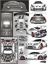 FireBrand RC 1:10 Baller 2.0 XDR Clear Lexan Drift/Race/Show Body & Accessories