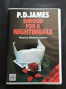 P.D. James Shroud for a Nightingale Chivers 8 Cassettes Audio Books.