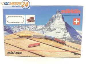 E293 Märklin Z 8185 Startset SBB / unvollständig