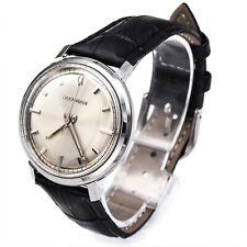 Vintage Bulova Accutron Stainless Steel Tuning Fork Men's Watch 35 mm