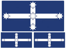 EUREKA STOCKADE FLAG STICKERS SET OF 3