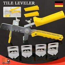 1.5/2mm Fliesen Nivelliersystem Verlegesystem Verlegehilfe Laschen+ Keile+ Zange