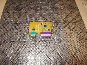 Dell Sunix MI06469A 05R3FC PCI-E X1 Parallel + Serial Adapter Card