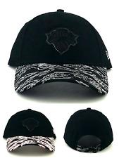 New York Knicks NY New Era 9Twenty Relaxed Reflective Black Gray '47 Dad Hat Cap