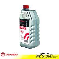 Olio freni DOT 4 Brembo per auto e moto Liquido Fluido freni 1 Litro L04010