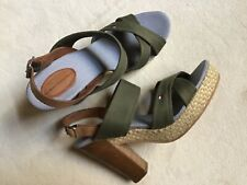 Tommy Hilfiger sandals leather and textile 38