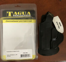 New Tagua Leather Thumb Break Paddle Holster Black Keltec PF9 Left