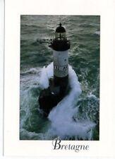 Mint 4x6 postcard - Ar-Men Lighthouse - Bretagne, France