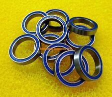 [5 PCS] 6702-2RS (15x21x4 mm) Rubber Sealed Ball Bearing Bearings (BLUE) 6702RS