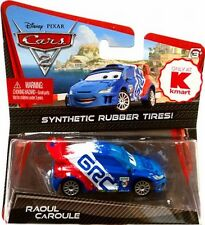 Disney Pixar Cars 2 Die Cast Synthetic Rubber Tires Raoul Caroule Kmart 1:55 NEW