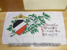 Fahnen Flagge Deutsches Reich Süd Nord - 90 x 150 cm