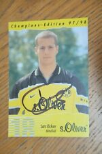 18 Lars Ricken handsigniert Champion Edition Bor. Dortmund 97/98 Autogrammkarte