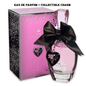 Disney Princess Aurora 3.4 oz Eau De Parfum EDP Spray + Collectible CHARM, NEW