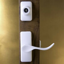 Storm Door Handle & Latch Set-White-2 Piece for 3/2 Inch Thick Door-90167-044