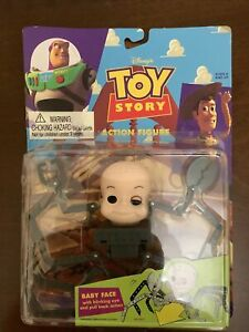 TOY STORY ACTION FIGURE BABY FACE **RARE** SIDS MUTANT TOY BNIP