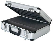 Aluminium Microphone Mic Flightcase inc Customisable Foam & Space for Leads
