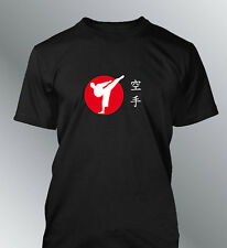 Tee shirt personnalise Karaté M L XL XXL homme col rond karate