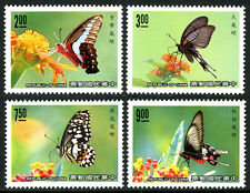 China Taiwan 2692-2695, MNH. Butterflies, 1989
