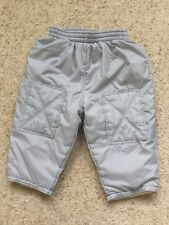 BABY BOYS LINED NYLON TROUSERS FROM EARLY DAYS AGE 0-3 MONTHS HARDLY WORN