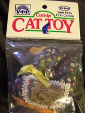 New listing 1 Dozen ( 12 ) Vip Vo-Toys duck catnip cat toy with bell on string
