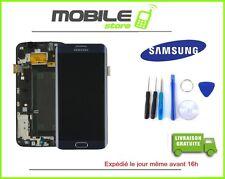 ECRAN LCD + VITRE TACTILE ORIGINALE S6 EDGE ET G925F COULEUR NOIR + OUTILS