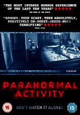 PARANORMAL ACTIVITY - DVD - REGION 2 UK