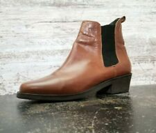 Ariat Chelsea Boots Sz 10 Used Brown Leather M200125 Slip On