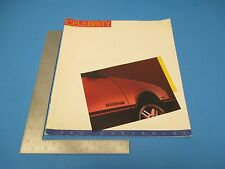 Celebrity 1986 Chevrolet New Models and Features 20-page Sales Booklet L213