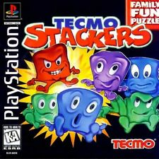 Tecmo Stackers - PS1 PS2 Playstation Game