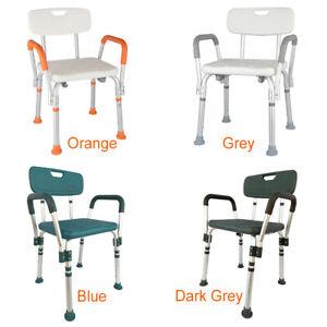 Free Post Adjustable Medical Shower Chair Bathtub Bench Bath Seat Aid Stool