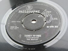 THE BEATLES  ORIGINAL  1965  SOUTH AFRICAN   45   TICKET TO RIDE  45-SPD 352