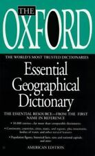 Oxford Essential Geographical Dictionary: 10,000+ entries; MSAs landforms nat ft