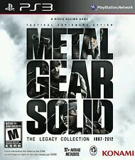 Sony ps3 PlayStation 3 juego * Metal Gear Solid The Legacy Collection *** nuevo * New