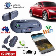 Wireless Bluetooth Hands Free Speaker Car Kit Clip Visor For Mobile Phone 2018