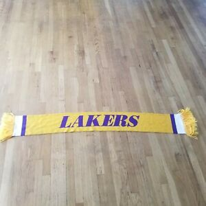 LA Lakers Mitchell and Ness nba team scarf muffler 60 inches