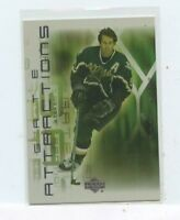 Mike Modano 2001-02 upper deck Hockey  gate attractions Insert Card GA14 Dallas
