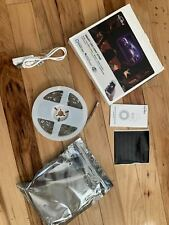 Smart WiFi LED Strip Lights Works NB with Alexa Google Home, 9.2 Ft, used