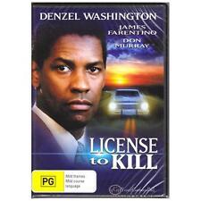 DVD LICENSE TO KILL Denzel Washington J Farentino 1984 Drama ALL REGION PAL[BNS]