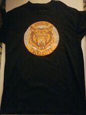 NWT Brooklyn University Fighting Tiger Pride Men's Black t-shirt size M