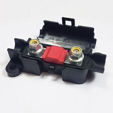 5 x 50 Amp Midi FUSIBILE Rosso + MIDI/striscia di collegamento scatola portafusibili AUTO 50 A