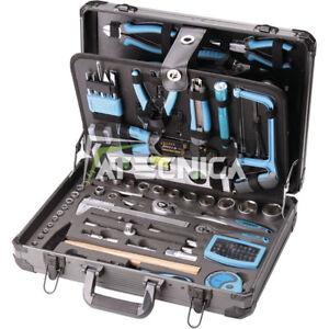 Valise porte outils FERVI 0105 malette équipée avec 162 outils