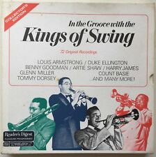 LOUIS ARMSTRONG/DUKE ELLINGTON/OTHERS Kings of Swings 6LP Reader's Digest Box