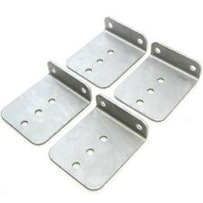 "(4) 6"" x 5"" Hot Dipped Galvanized L Type Boat Trailer New Bunk Board Brackets"